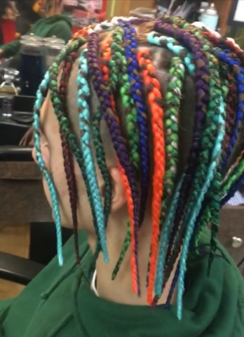 Single braids with Extensions